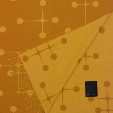 Vitra - Eames Wool Blanket, Dot, mustard