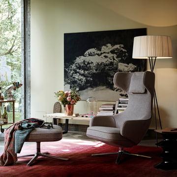 Christmas Offer: Vitra Grand Repos Armchair + Free Ottoman or Panchina