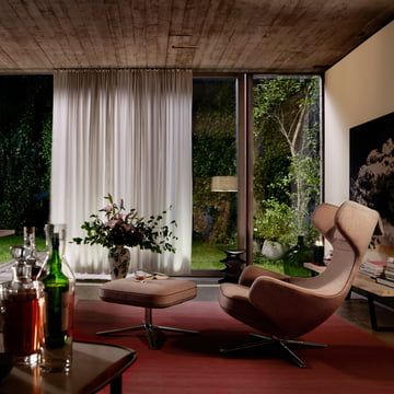 Christmas Offer: Vitra Grand Repos Armchair + Free Ottoman or Panchina