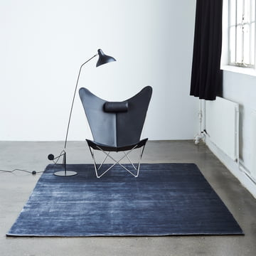 The Massimo - Bamboo rug with Chair and Lamp