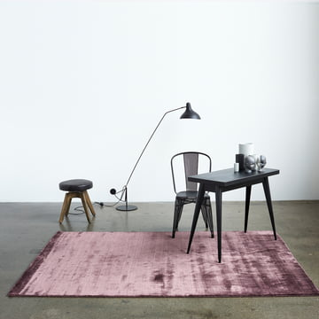 The Massimo - Bamboo Rug in the Office