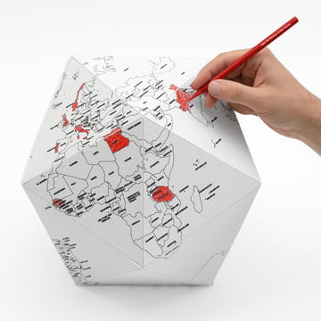 Palomar - Here The Personal Globe in Medium, Large, Small with Pen