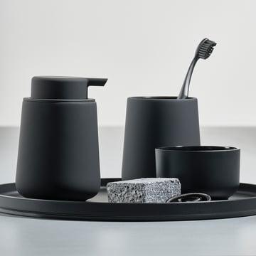 Nova One Toothbrush Holder and Soap Dispenser by Zone Denmark