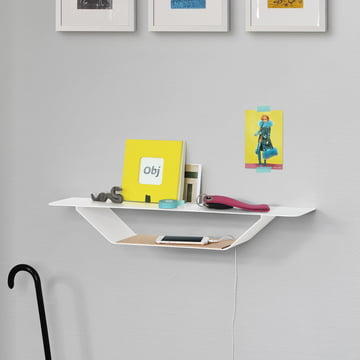 The vonbox - RAY Shelf in White on the Wall