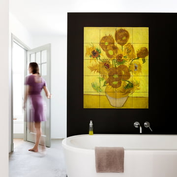 Sunflowers (Van Gogh) by IXXI