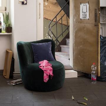 173 Armchair by Freistil in Pine Green (6084)
