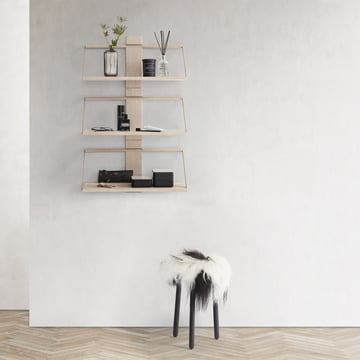 The Andersen Furniture - Wood Wall Shelf, Oak