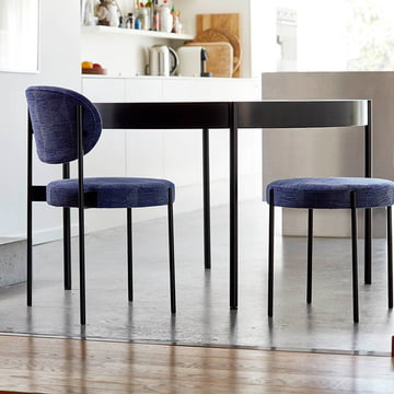 The Verpan - Stool, Chair and Table 430 Combined