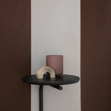 Pujo Wall Shelf by ferm Living in Black
