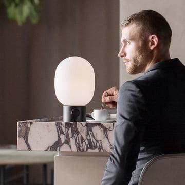 The Menu - JWDA Table Lamp, Black