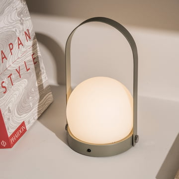 Carrie LED Lamp by Menu in Olive