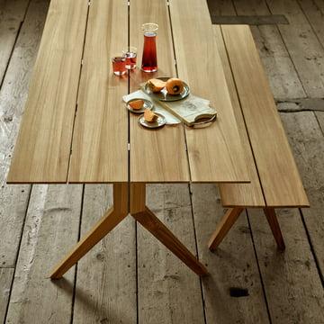 The Weishäupl - Loft Bench and Matching Loft Table