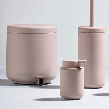 The Zone Denmark - Ume Series with Soap Dispenser, Toothbrush Holder, Toilet Brush