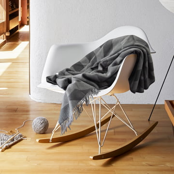 Cuddle Up With a FREE blanket when you purchase an Eames RAR rocking chair from Vitra today!!