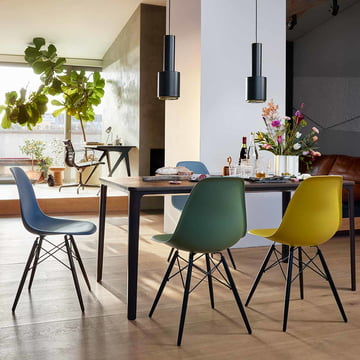 Eames Plastic Chairs in new colors