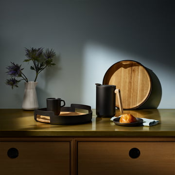 Pots and pans series in a rustic design