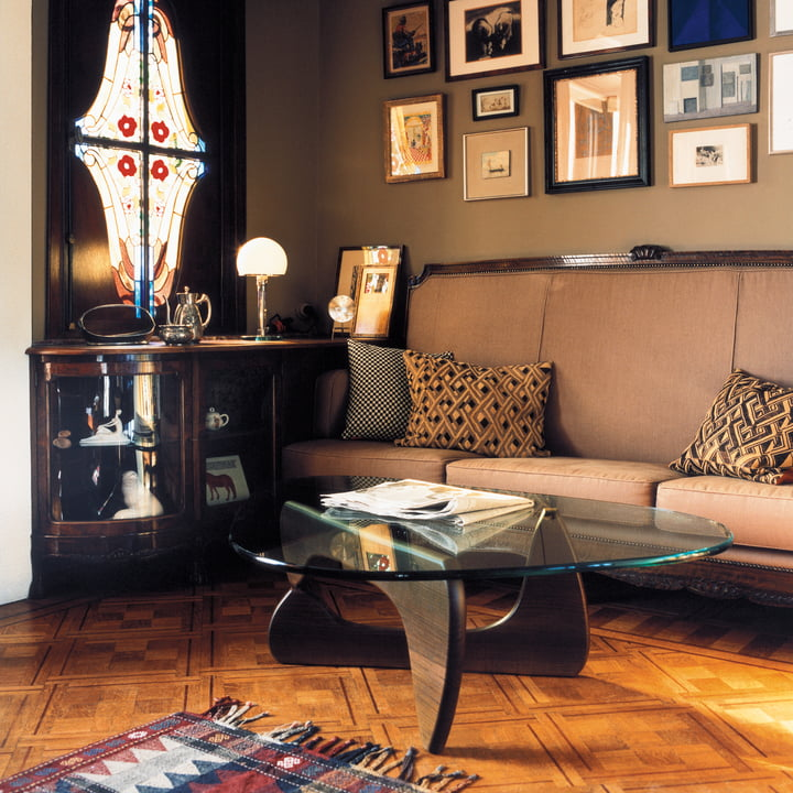 The Coffee Table by Vitra in a retro surrounding