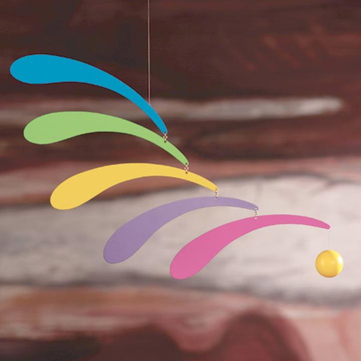 Flowing Rhythm - rainbow