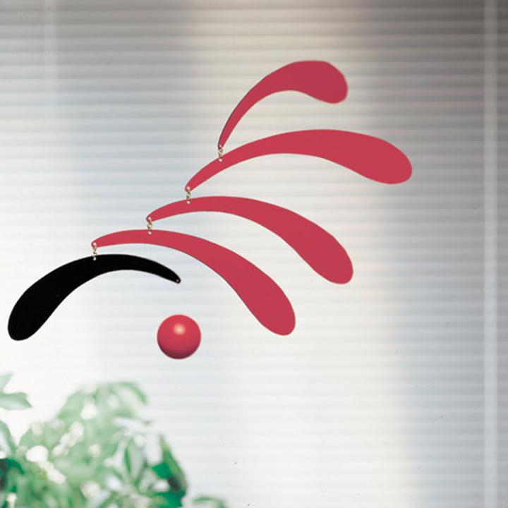Flowing Rhythm - red