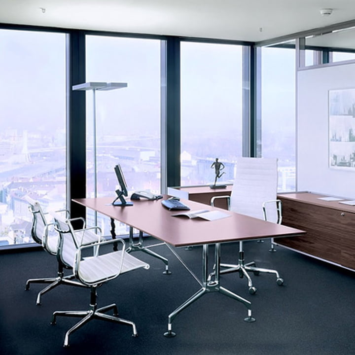 aluminium group ea 119 office chair by vitra. Black Bedroom Furniture Sets. Home Design Ideas