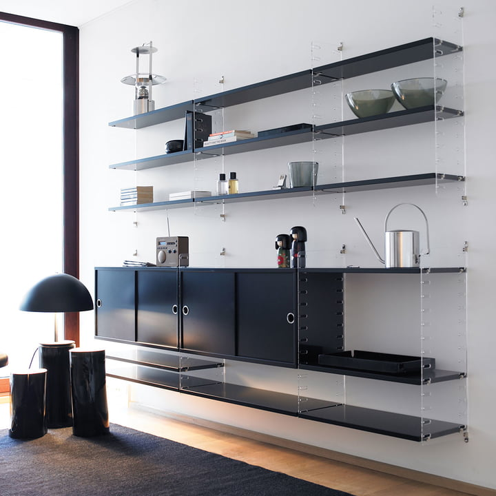 Plex Shelving System By String In The Shop