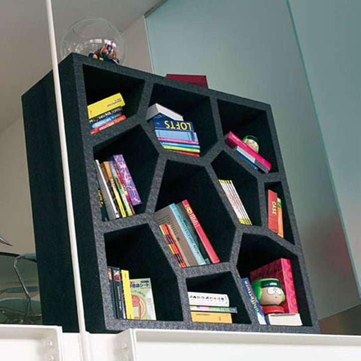 Casamania Opus Incertum Shelf, black