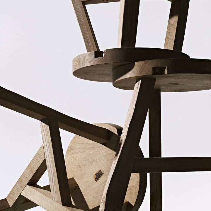 Tom Dixon - Offcut Stool - detail