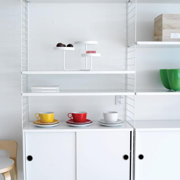 String Shelf System, white