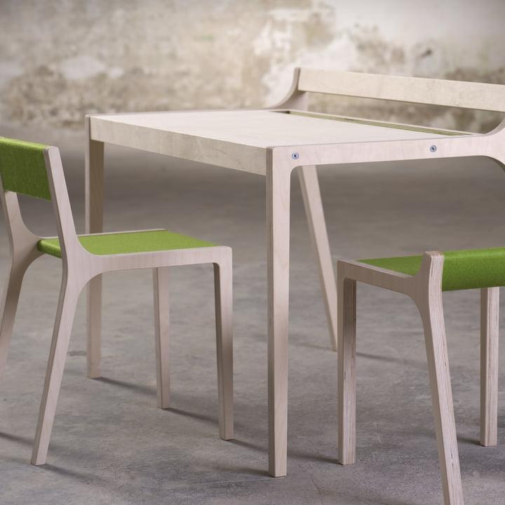 Sibis Afra Children's Desk, grün