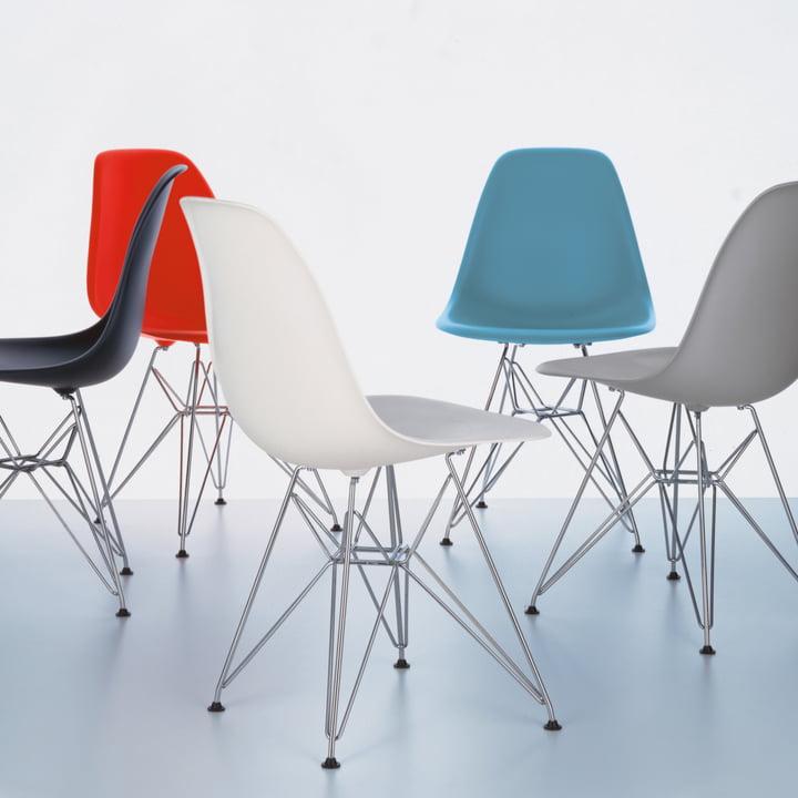 Vitra - Eames Plastic Side Chair DSR