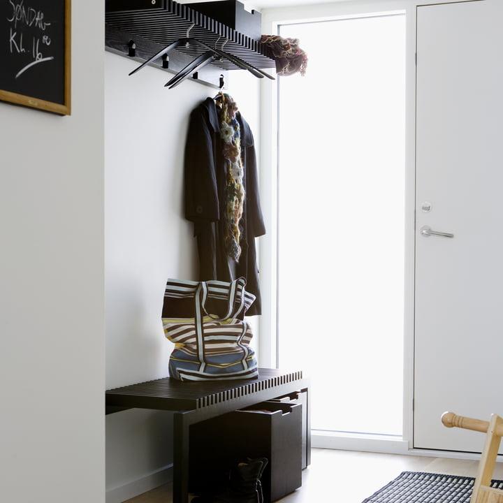 Skagerak Cutter wardrobe, black