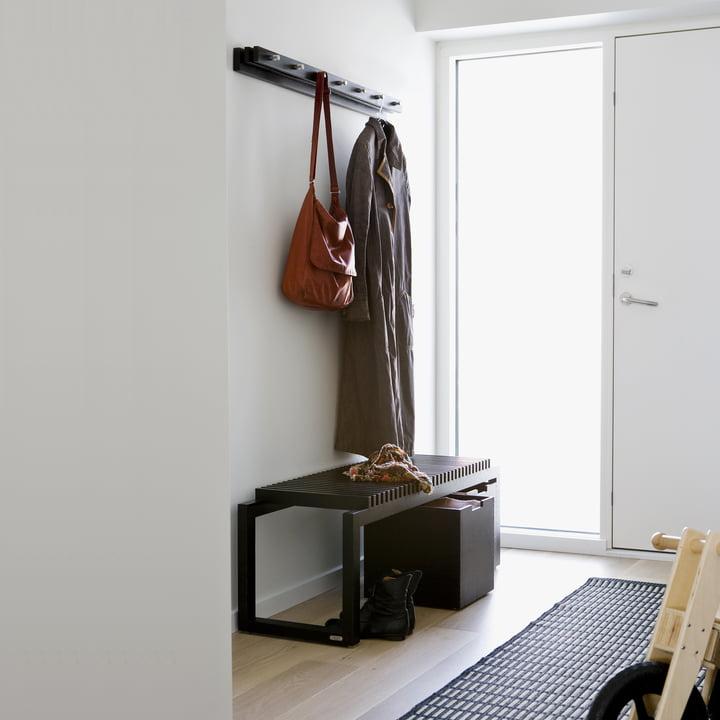Cutter Clothes Rail, black