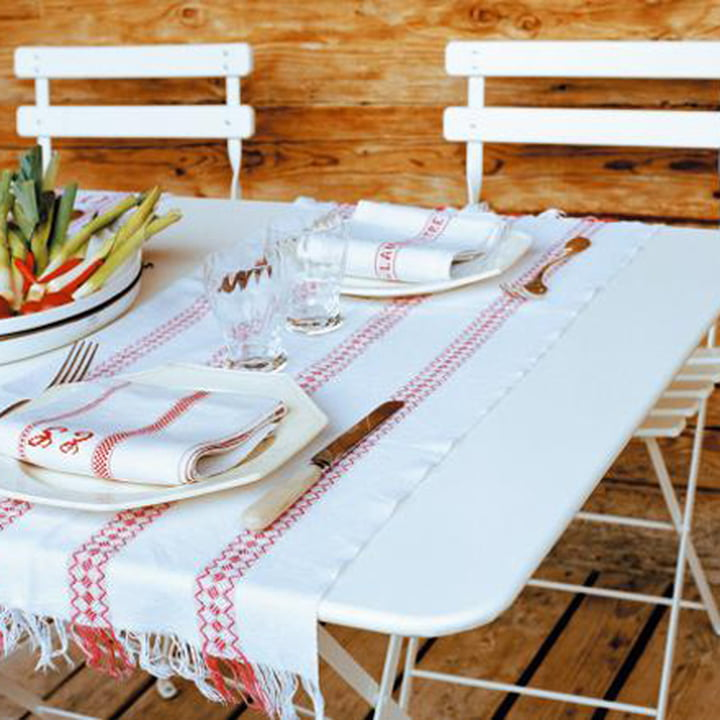 Fermob - Bistro folding chair and table