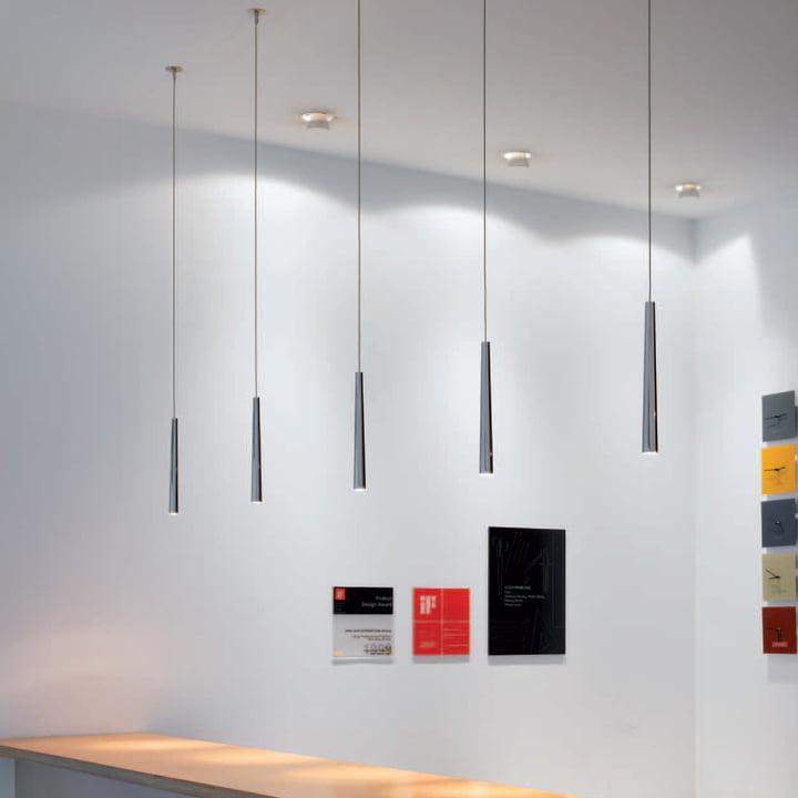 Flute Metall Pendant Lamp By Steng Licht