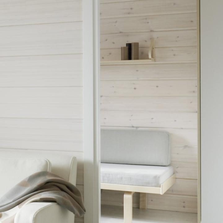 Artek wall shelf 112B, white