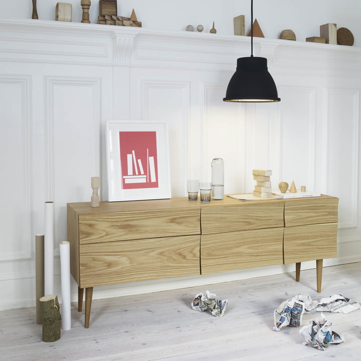 Muuto - Reflect Sideboard and Studio Lamp