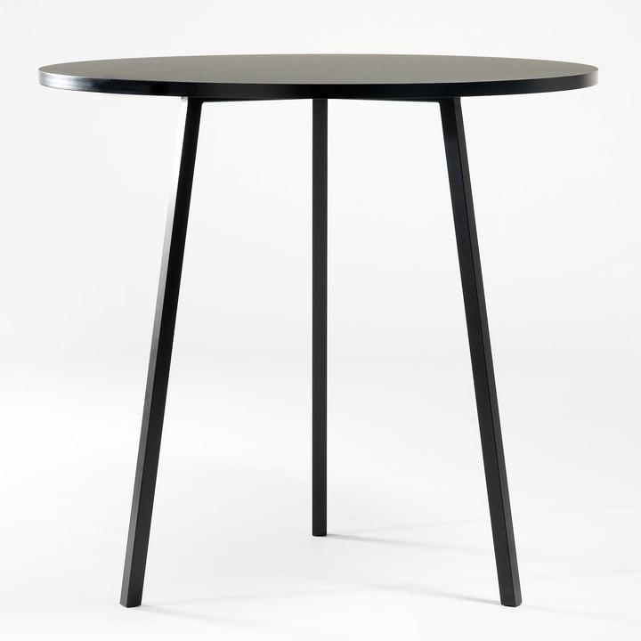 Hay - Loop Stand Bistro Table, black
