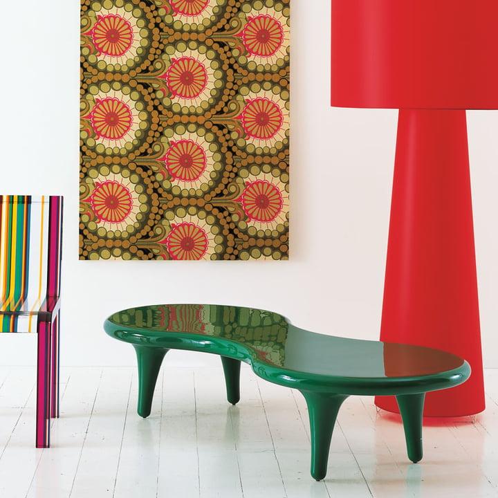 Cappellini - Orgone Table - green