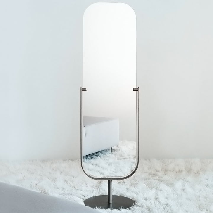 Two-sided Mirror Floor Mirror by Cappellini