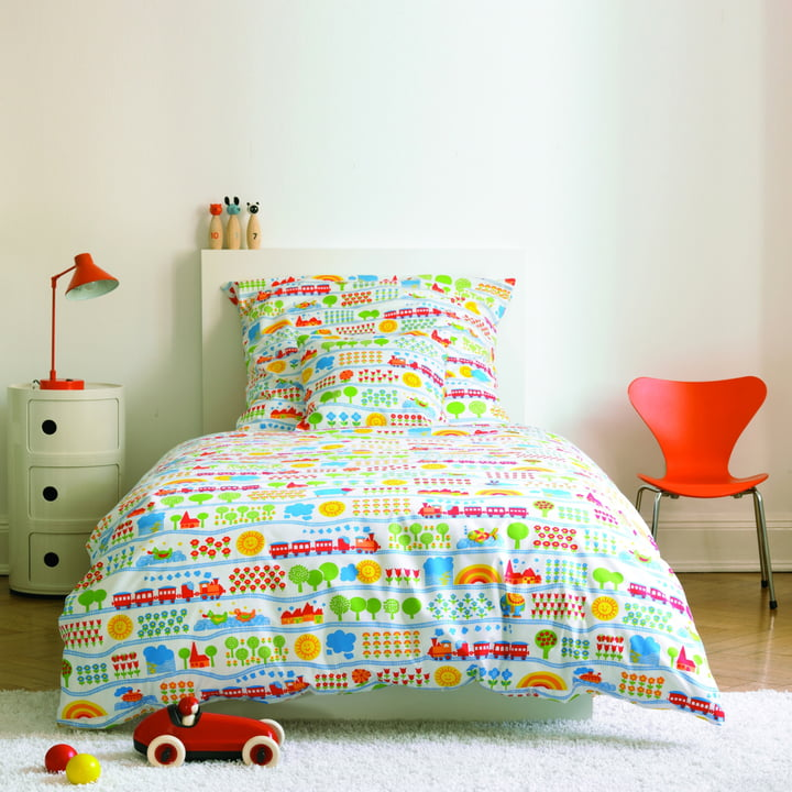 byGraziela Train Bedding Set | Van's room | Kids bedding ...