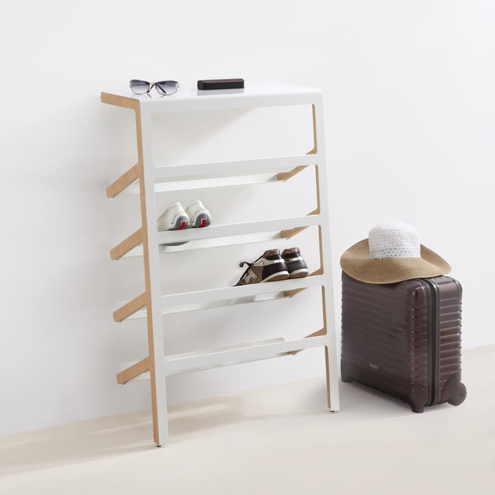 Shoe Rack with Style: Mila by Mox