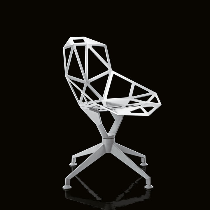 Skeleton-like and sculptural appealing Chair One 4Star by Magis