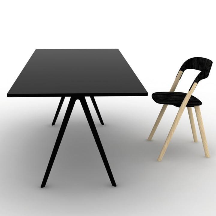 Magis - Baguette Table & Chair