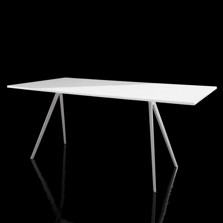 Magis - Baguette Table - white - black background