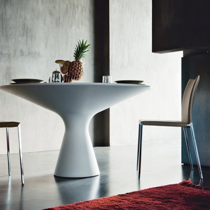 Zanotta - Blanco dining table Ø 130 cm