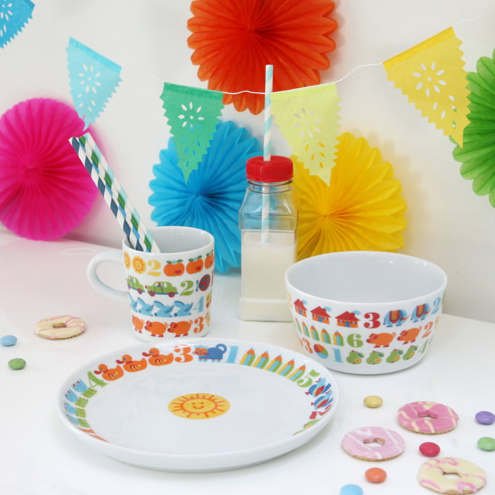 byGraziela - 1,2,3 Children's Dishes