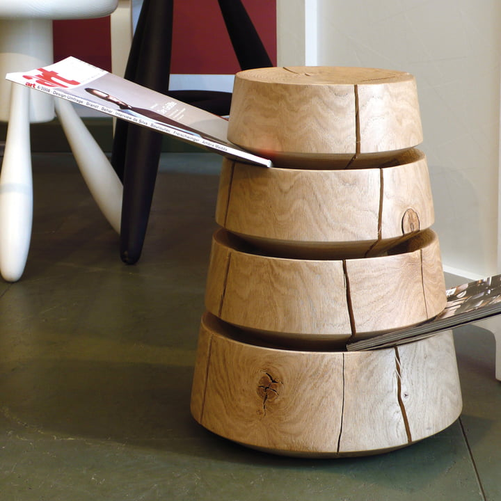 siebensachen - Big Babel magazines stool