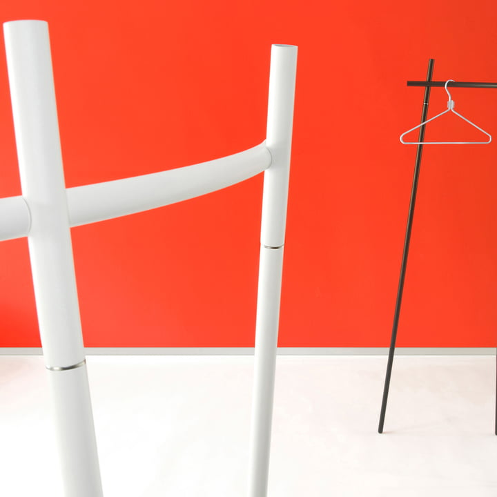 Radius Design - Wardrobe Radius 1, white and black
