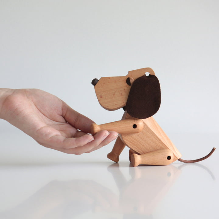 Architectmade - Wooden Dog Oscar
