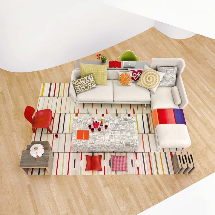 Vitra - Suita sofa - various items - ambience